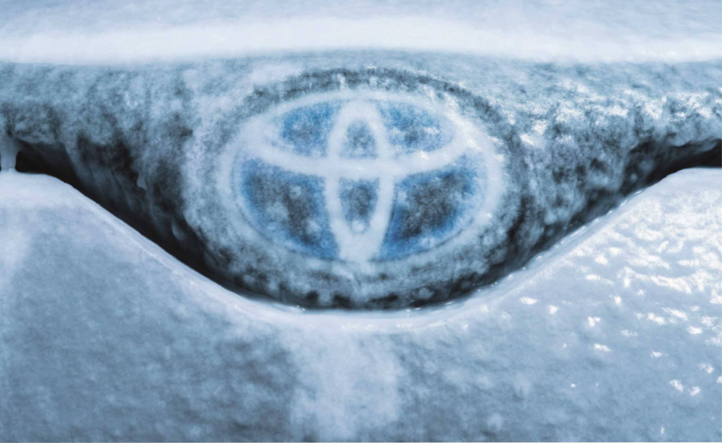 """Original Toyota Wintercheck"""